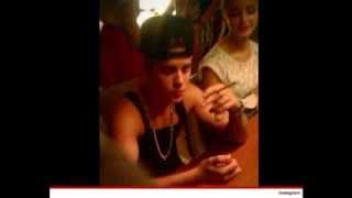 Justin Bieber Snapped smoking weed again!