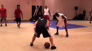 Dwyane Wade gets totally embarrassed by street baller!!