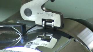 Presser foot for skiving machine/ Chân vịt dùng cho máy lạng da