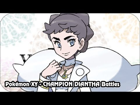 Pokémon X/Y - Kalos Champion Diantha Battle