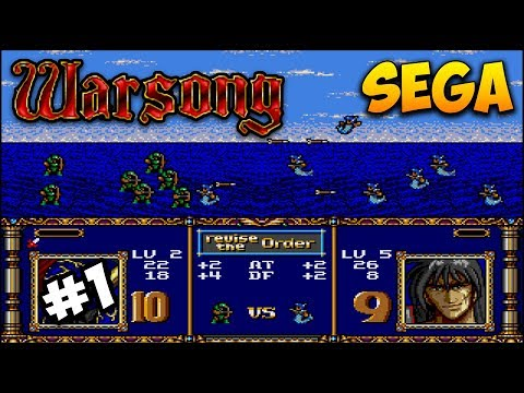 Warsong прохождение #1 (Sega, SMD)