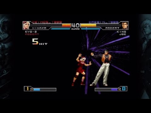 King of Fighters 2002 Unlimited Match Player Match Gameplay 2 |
