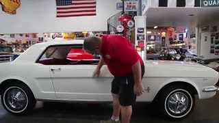 "1964 1/2  Mustang 289 V-8. AT. Coupe  "" SOLD ""  Dragers International Classic Sales  206-533-9600"