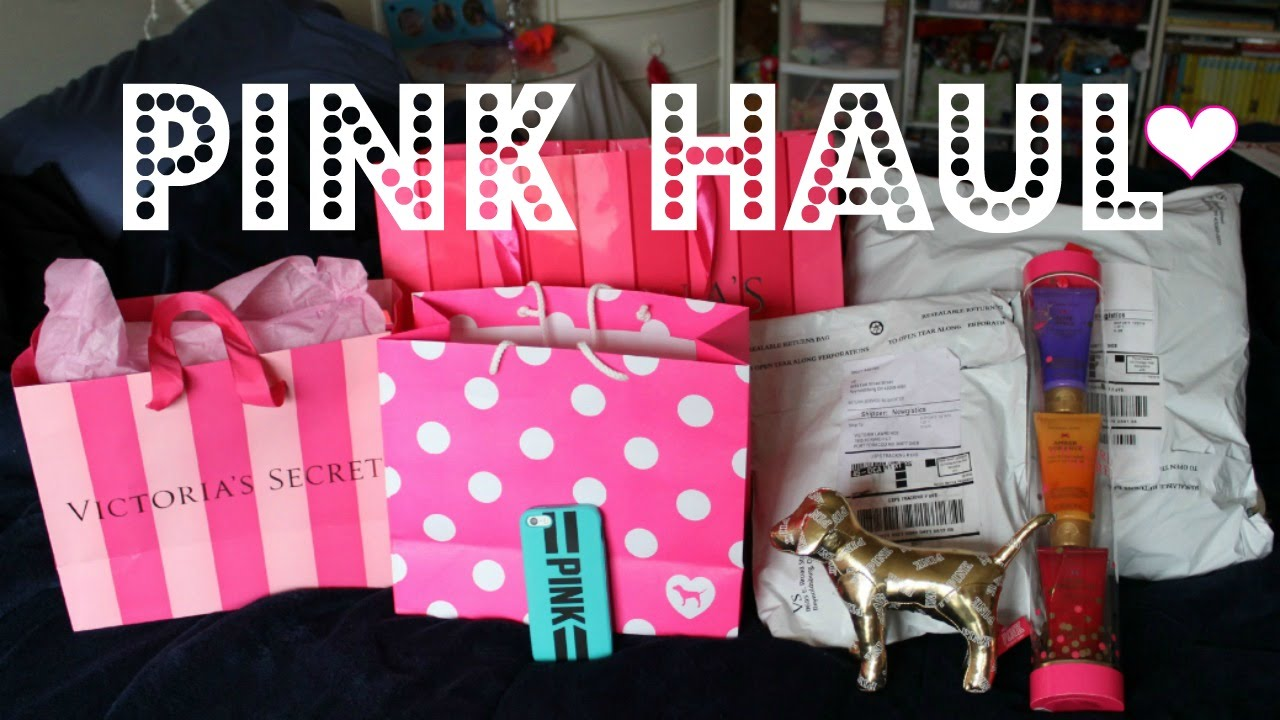 5bd8dbf744c6 VS PINK HAUL - YouTube