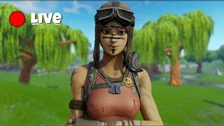 Fortnite VBUCKS GIVEAWAY - Decent Console Builder - Chèvre avec les bâtons - Fortnite Live
