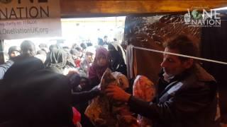 FREE CLOTHING MARKET SET UP IN IDLIB, SYRIA - 16 JAN 2017