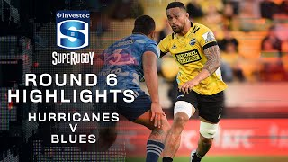 ROUND 6 HIGHLIGHTS | Hurricanes v Blues – 2020
