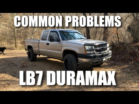 Common Issues with LB7 Duramax 6 6 (2001-2004)