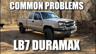 Common Issues with LB7 Duramax 6.6 (2001-2004)