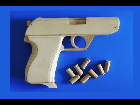 Shell Ejection Rubber Band Gun Hk4 Type Youtube