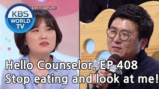 My husband is addicted to sausage & rice soup.  [Hello Counselor/ENG, THA/2019.04.15]