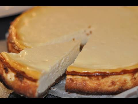 recette du cheesecake new york style au citron youtube