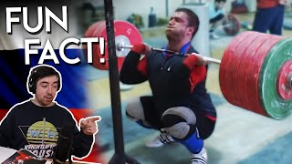 Reacting to Klokov's BIGGEST Lifts