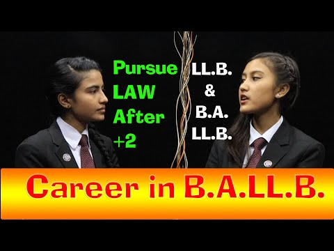 Career in Law and Law Colleges in Nepal | LLB and BALLB | Sweta and Bhawana