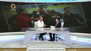 Juan Carlos Dugarte: Movilización en apoyo al presidente Maduro transcurrió pacíficamente  (Parte 2)