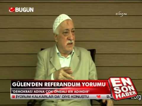 Gülen'den Referandum yorumu