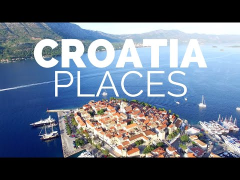 10 Best Places to Visit in Croatia - Travel Video