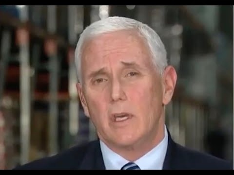 Pence called out to his face over claim that Trump NEVER downplayed the virus