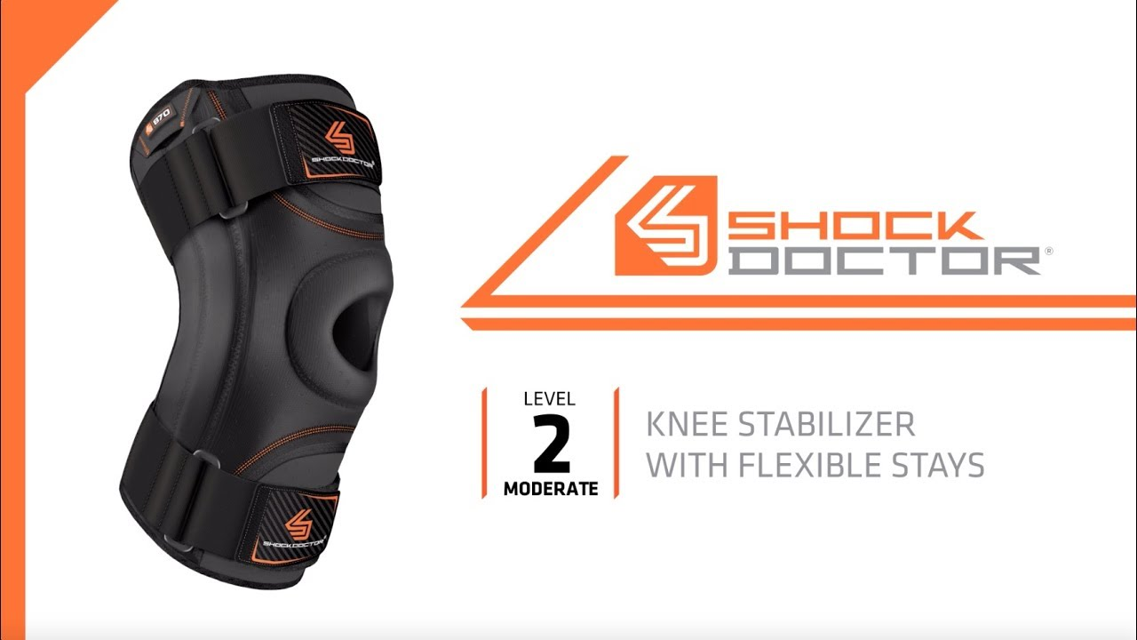 5d9ec557ee Shock Doctor – How to Fit Knee Stabilizer With Flexible Support Stays  (SD870)