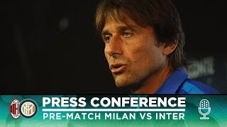 MILAN vs INTER | Antonio Conte Pre-Match Press Conference LIVE 🎙⚫🔵 [SUB ENG]