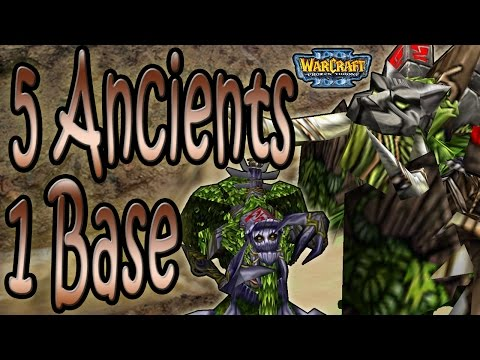 Warcraft 3 - WTii & Praccy #7 | Ancient Rush (2v2 AT #23)