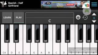 Barish half girlfriend piano ringtone