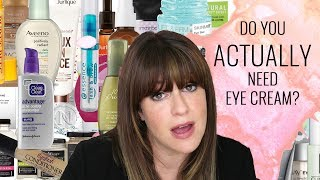 Do you ACTUALLY need Eye Cream? | The REAL Skincare Necessities