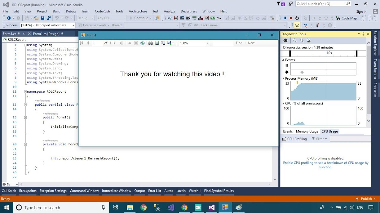 Download and Install Report Viewer For Visual Studio 2017 | FoxLearn