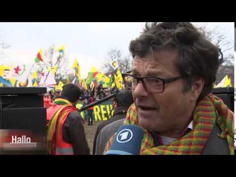 Interview mit Diether Dehm bei Newroz 2016 in Hannover