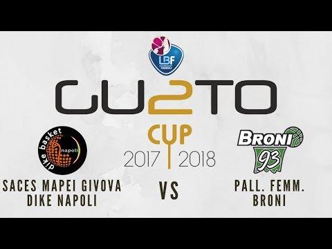 Saces Mapei Givova Dike Napoli vs Pall. Femm. Broni