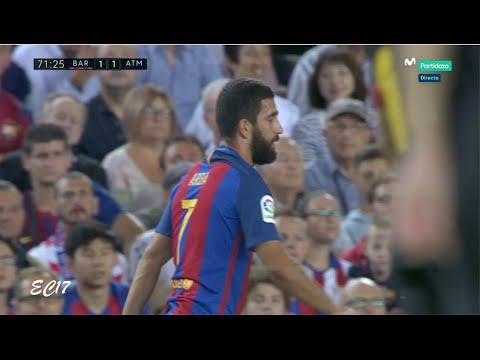 Arda Turan vs Atletico Madrid (Home) (21/09/2016) 720p HD by EC17