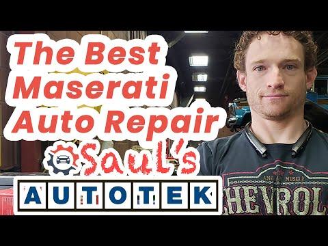 Auto Repair Maserati Englewood Colorado Saul
