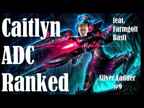 Silber-3-Promo und LCS-Farm   Caitlyn ADC   Ranked   Silver Ladder #9   BastiLP