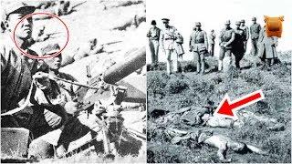 抗日史上最勇猛的機槍手,一日獨力擊斃了日軍500人以上,流芳百世...!