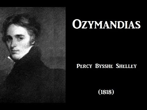 explain irony poem ozymandias percy blythe shelly Study flashcards on ozymandias - percy bysshe shelly at cramcom ozymandias - percy bysshe shelly by cameronsharp15, oct i met a traveler from an antique land shelly frames the poem as a story to make it clear that the narrator hasn't even seen the statue himself, he's only heard.