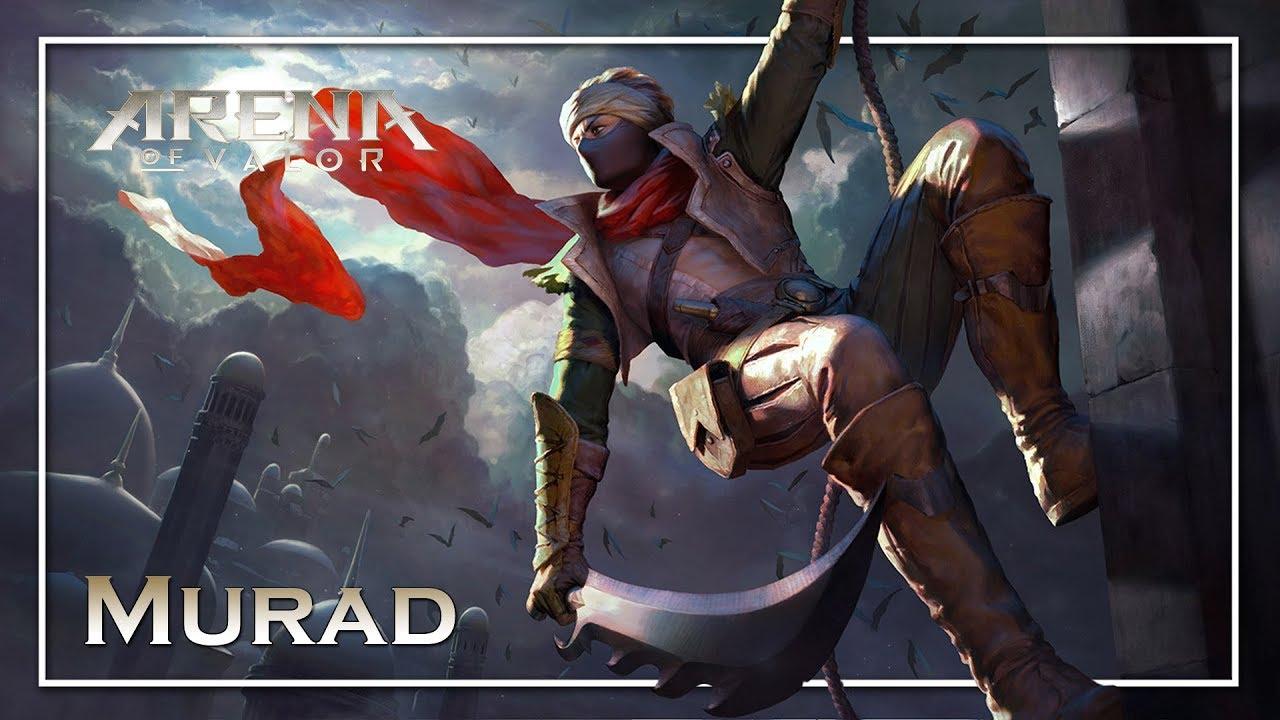Arena Of Valor: NEW HERO MURAD GAMEPLAY Abilities - YouTube