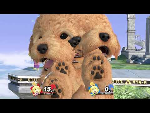 Isabelle's Assist Trophy Glitch: PUPPY OVERLOAD!