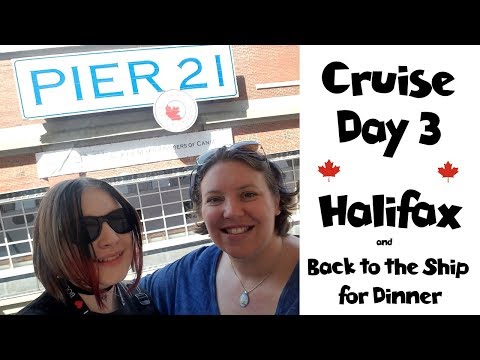 Halifax Shopping & Exploring | Dinner at La Cucina • NYC Land & Sea Cruise Vlogs Day 10 [ep22]