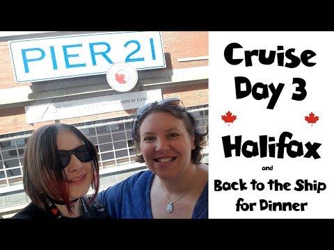 Halifax Shopping & Exploring   Dinner at La Cucina • NYC Land & Sea Cruise Vlogs Day 10 [ep22]