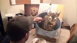 Flip Flop Painting Video
