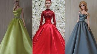 2 beautifull party Amazing DIY Barbie Clothes Life Hacks ????