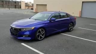 Eibach Lowering Springs and Camber Kit 2018-2019 Honda Accord Sport (Part 1)