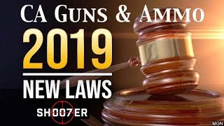 NEW 2019 CA GUN LAWS EXCLUSIVE PREVIEW - SH007ER ShopTalk