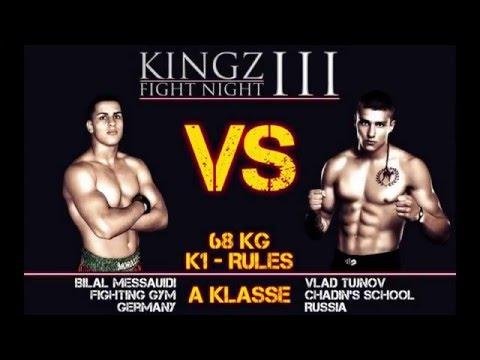 KINGZ III Fight Night Messauidi vs Tujnov