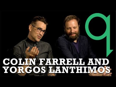 "Colin Farrell and Yorgos Lanthimos - ""control is a delusion"""