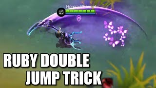 RUBY'S DOUBLE JUMP TRICK AND NEW SKILL EFFECTS OF HER HIDDEN ORCHID BUTTERFLY