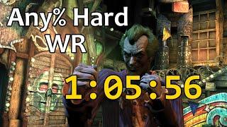 [WR] Batman: Arkham City Speedrun (Any%, Hard) in 1:05:56