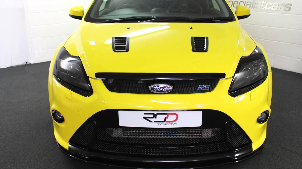 Ford focus rs yellow youtube ford focus rs yellow malvernweather Image collections