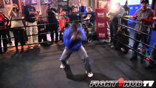 Yuriorkis Gamboa Vs. Michael Farenas: Gamboa Shadow Boxing Routine