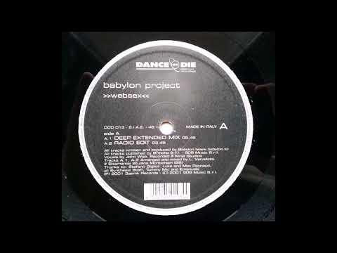 Babylon project - Websex (Deep extended mix) Italodance 2001
